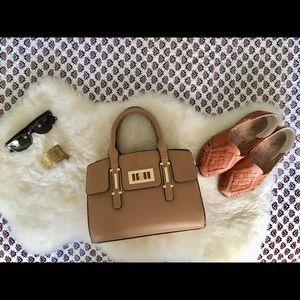 Handbags - Tan Handbag